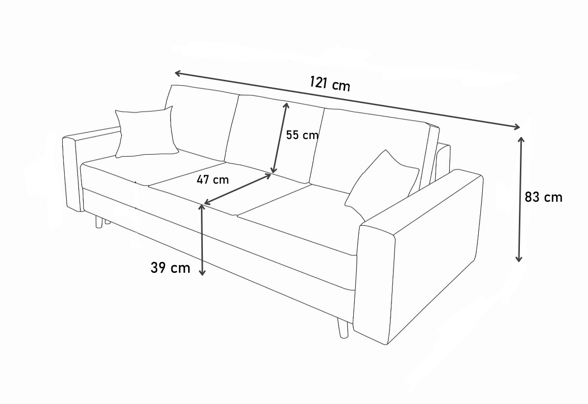 JERRY 3 kanapé | Expedo.hu